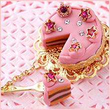 層を作ってカットするホールケーキクリップ~シャン・ド・フルール~キット代3,996円