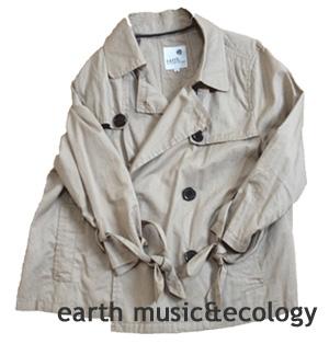 earth music&ecologyコート