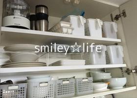 【モニター】T様キッチン吊戸棚 食器もココです