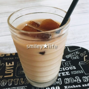コーヒー氷でアイスコーヒー
