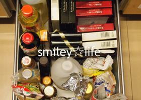 友人Yちゃん宅のキッチン片付け④調味料と食品の収納